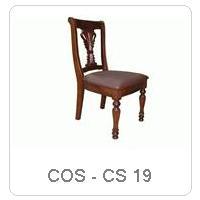 COS - CS 19